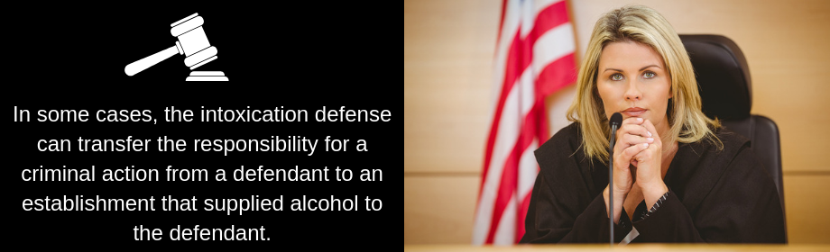 Intoxication Being Used As A Defense