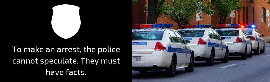 Cop Making An Arrest
